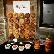 Bagel Bar - Leadercast - by Compass Occasions Event Planners