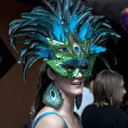 Non-Profit Event Photo - Mardis Gras - by Compass Occasions Event Planners