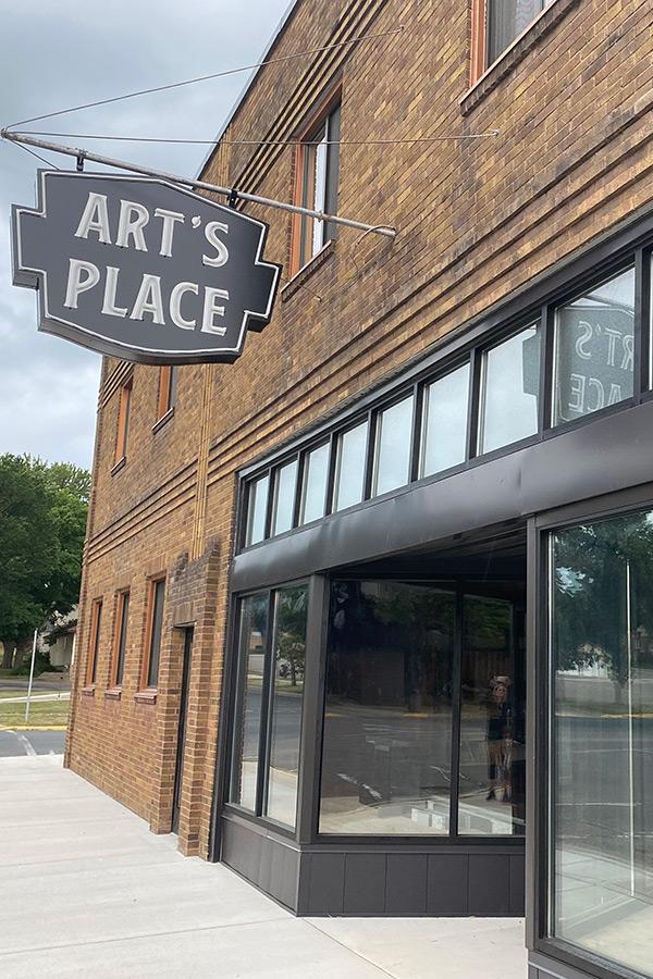 Art's Place Storefront - Event Venue - Hutchinson, MN